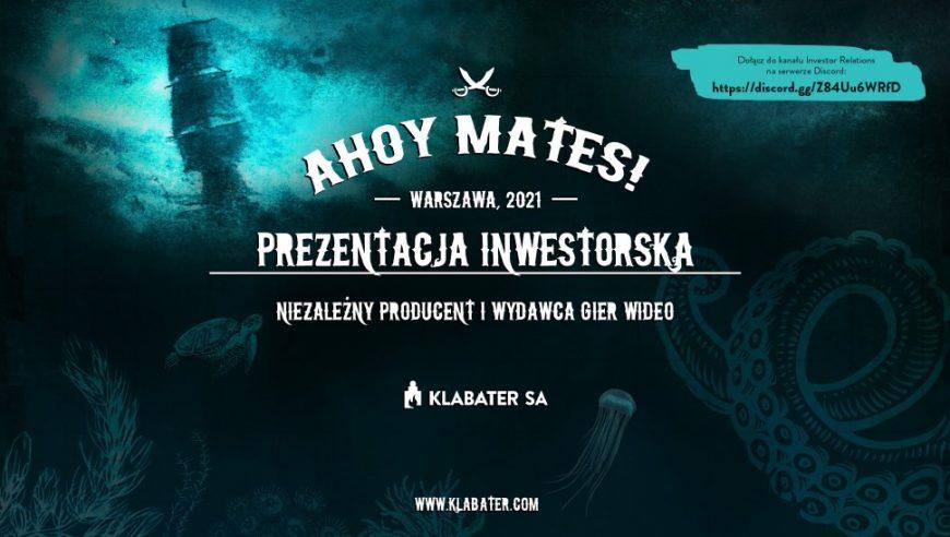 Investor Presentation 2021