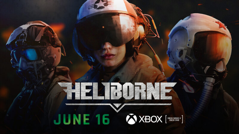 HELIBORNE COMING ON XBOX SERIES X AND XBOX ONE ON JUNE 16