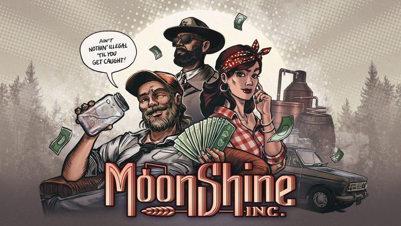 MOONSHINERS: THE GAME OD DZISIAJ ZMIENIA SIĘ W MOONSHINE INC.!