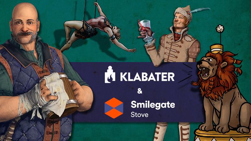 Klabater SA nawiązał współpracę z wiodącą koreańską cyfrową platformą wydawniczą Smilegate Stove, Inc.