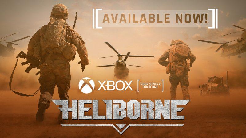 HELIBORNE NOW ON XBOX SERIES X|S AND XBOX ONE