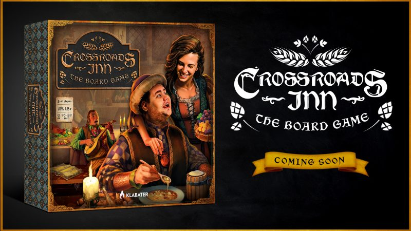 KLABATER WILL SOON LAUNCH A CROWDFUNDING CAMPAIGN FOR CROSSROADS INN: THE BOARD GAME